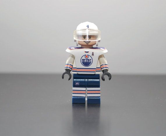 Custom Minifigure TAYLOR HALL Edmonton Oilers by MiniMenCo on Etsy, $29.99