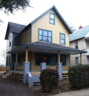 """A Christmas Story House,"" located in Cleveland's Tremont neighborhood, was the main set for the well-loved 1983 Christmas movie, ""A Christmas Story."" The house is newly restored and opened as a tourist attraction and museum in November of 2006."