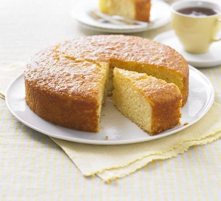Lighter Lemon Drizzle Cake from BBC Good Food http://www.bbcgoodfood.com/recipes/1973654/lighter-lemon-drizzle-cake