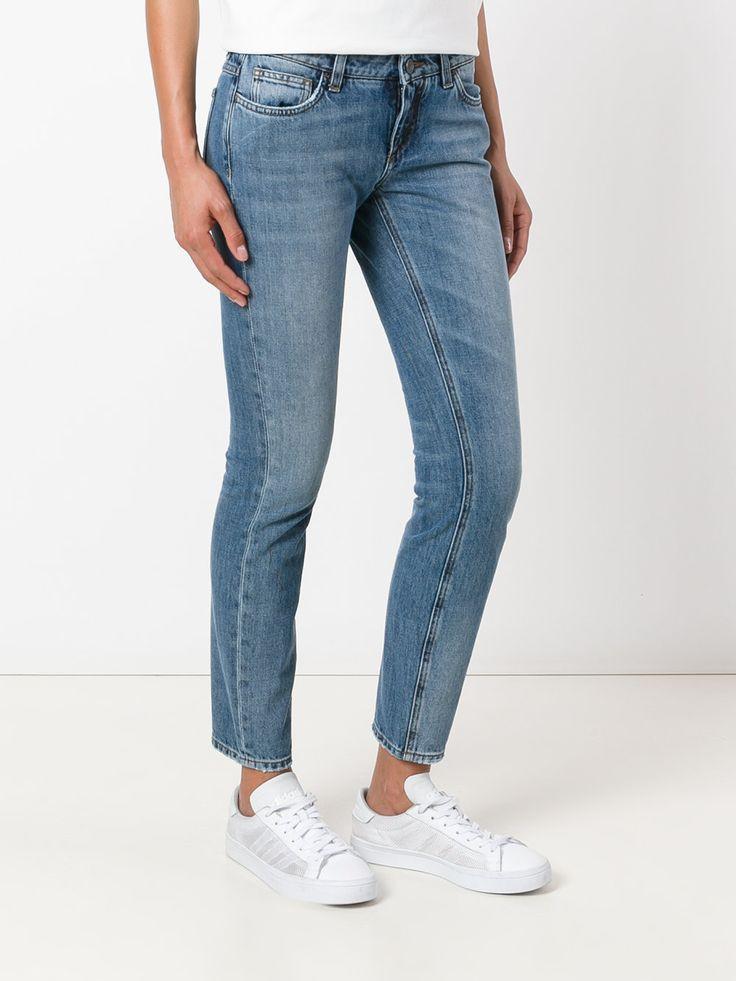Dolce & Gabbana укороченные джинсы кроя слим
