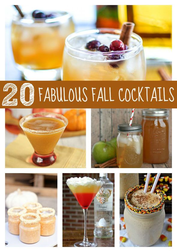 Fall Cocktail Party Menu Ideas Part - 32: 20 Fabulous Fall Cocktails