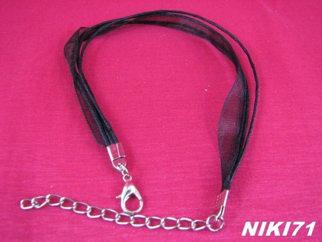 Black Ribbon Bracelets #9. Starting at $5 on Tophatter.com!