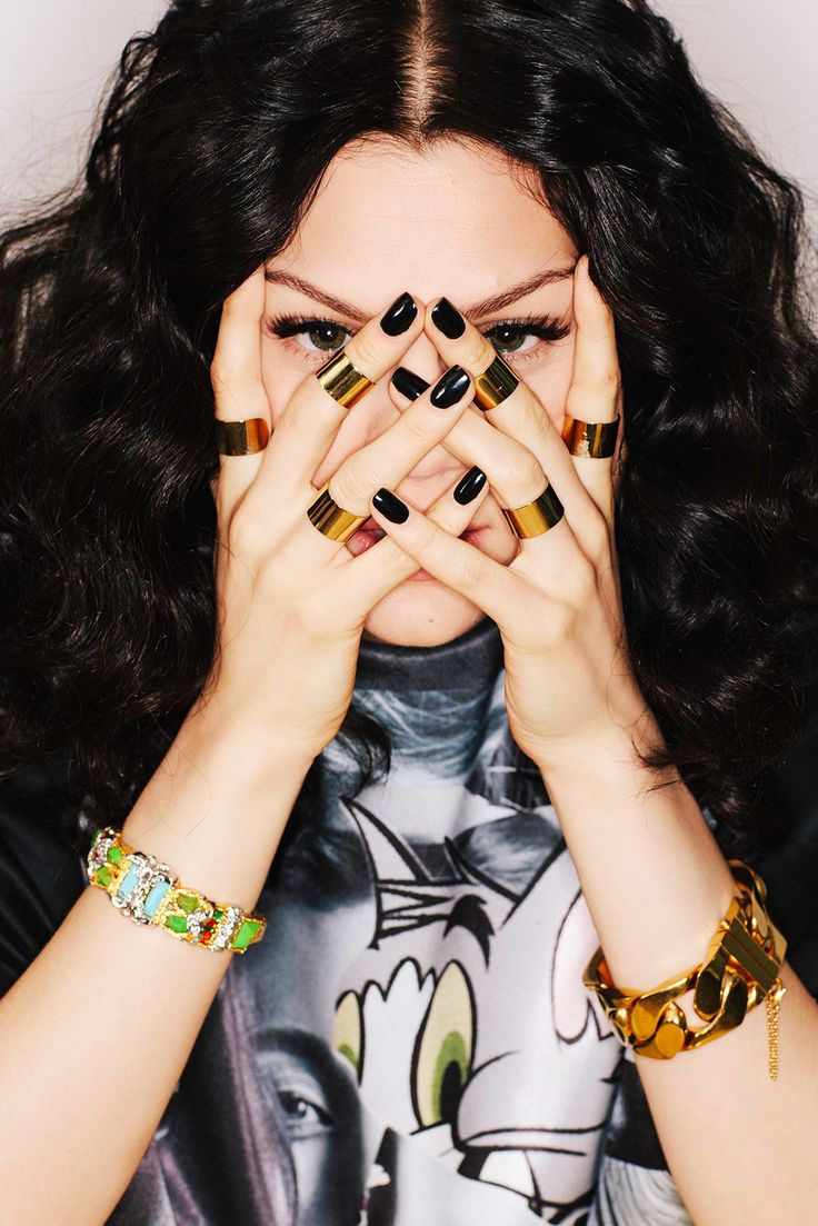 Those rings.  Make Way For The Real Jessie J #refinery29  http://www.refinery29.com/2014/08/72479/jessie-j-interview-bang-bang-new-music#slide2