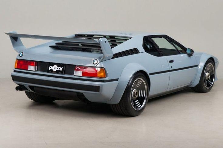 BMW M1 Pro Car Restore abgeschlossen und wird angezeigt. Nur eine Spezifikation für öffentliche Straßen