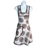 Pure Indian Foods-  Women's Organic Cotton Full Apron  http://www.pureindianfoods.com/Organic-Apron-p/apron1.htm