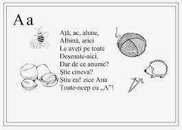 Image result for alfabetul limbii romane pentru copii