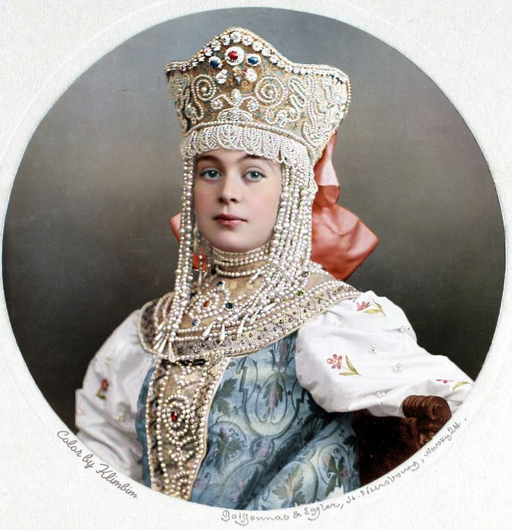 Princess V.M. Kudasheva - color by klimbims