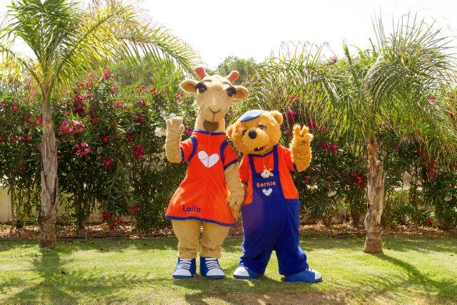 Lollo & Bernie - the popular mascots