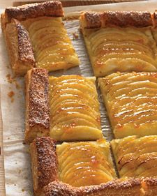 Apple Tart using frozen puff pastry. Once assembled, this tart can be frozen for up to three days. Simply bake it straight from the freezer as instructed.