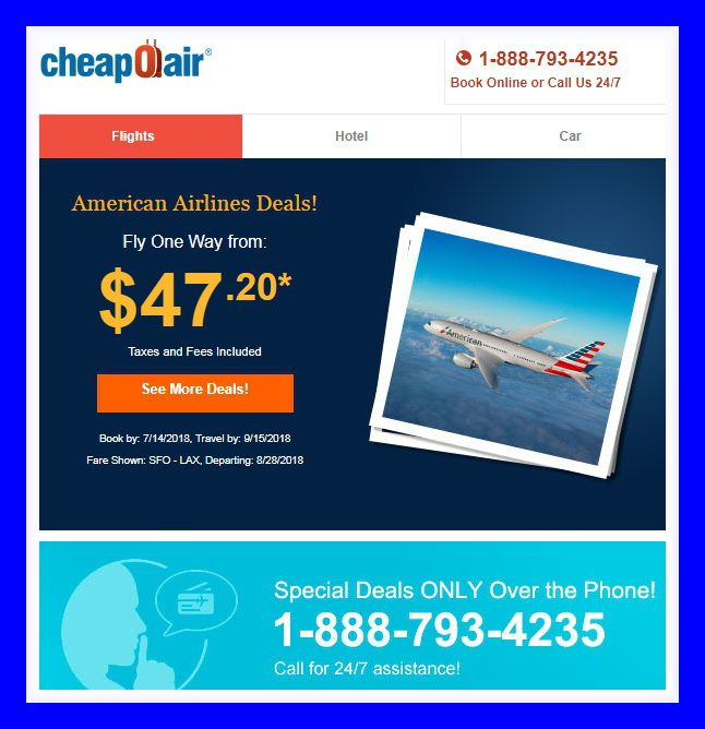 Book American Airlines Flights with CheapOair   ✈ Cheap