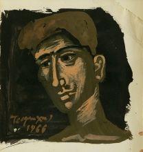 Γιάννης Τσαρούχης (1910-1989)  Κεφάλι νέου