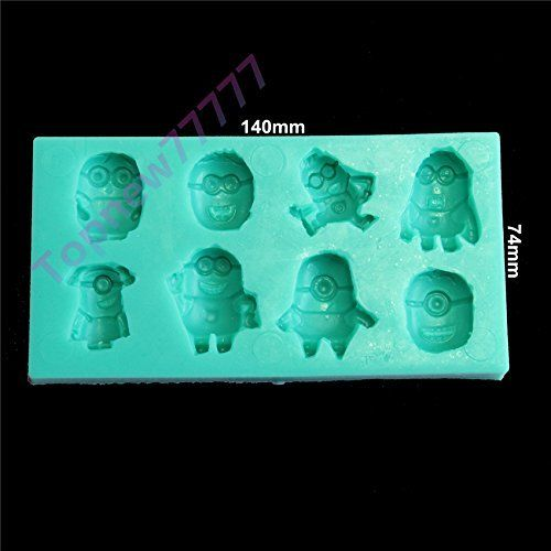 3d Despicable Me Minions Shape Chocolate Candy Jello 3d Silicone Mold Mould Cake Tools Bakeware Pastry Bar Soap Mold, http://www.amazon.com/dp/B00RFSKE7O/ref=cm_sw_r_pi_awdm_X9Drxb1JJK3H8