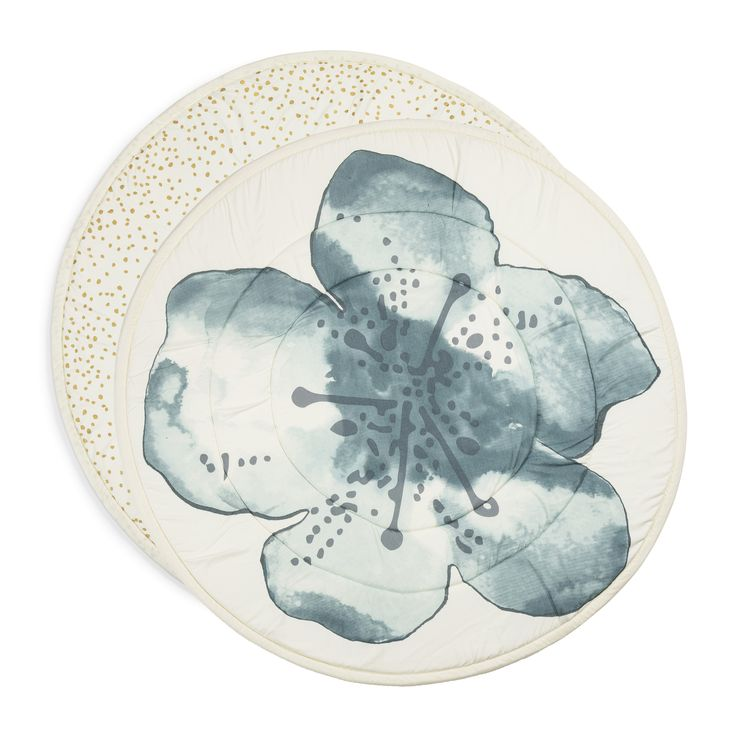 Play Mat - Embedding Bloom Petrol From Elodie Details HOME COLLECTION, SS18 - The Gilded Garden