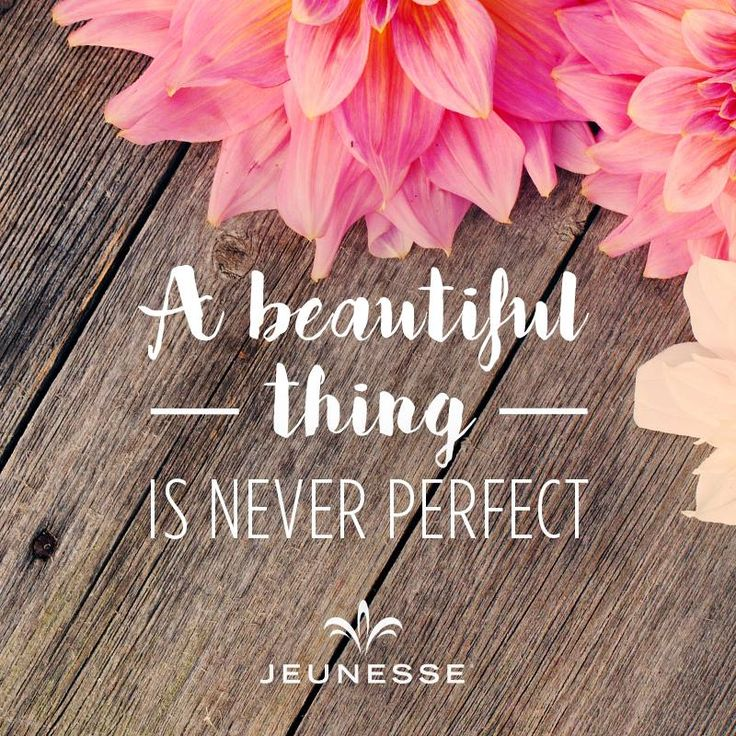 You don't have to be perfect to do it. Just go ahead and give your own business a try with Jeunesse. I'll help you :)  https://multibra.in/6wr36
