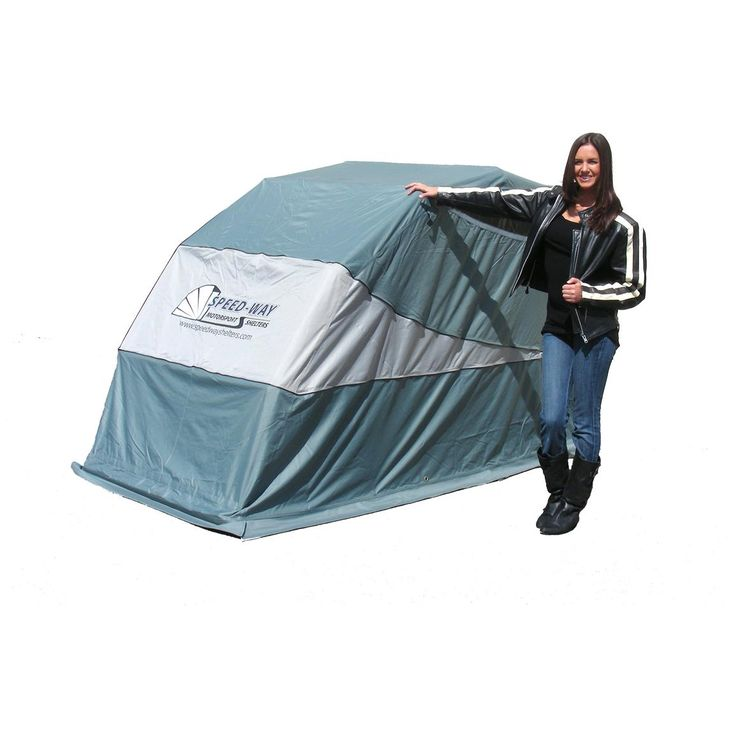 Speed - Way® Retractable Standard Motorcycle / ATV Shelter - 169358, ATV, UTV, Motorcycle, Snowmobile Covers at Sportsman's Guide