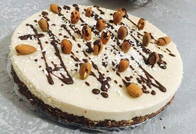 Nyers Bounty-torta