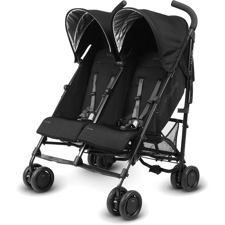 UppaBaby G-Link Double Umbrella Stroller || if we have baby #2 within the next couple of years.. kids can be funny about strollers. I would want this FOR SURE if I were currently pregnant.