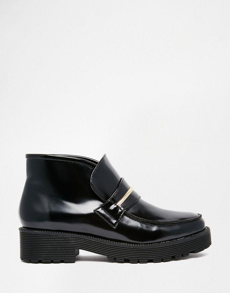 Image 2 ofASOS ACID Loafer Ankle Boots