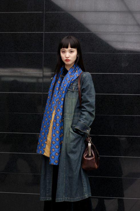 ストリートスナップ渋谷 - 萬波 ユカさん - vintage, ミュウミュウ, ヴィンテージMIU MIU