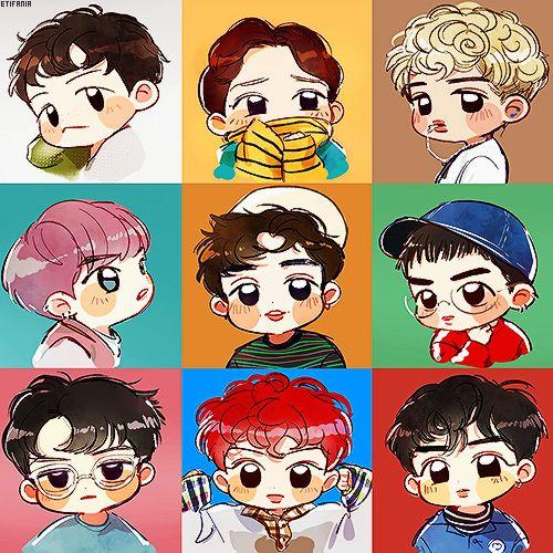 EXO 엑소 Lucky One | 첸 Chen | 카이 Kai | 백현 BaekHyun | 수호 Suho | 시우민 XiuMin | 디오 D.O | 찬열 Chanyeol | 레이 Lay | 세훈 Sehun