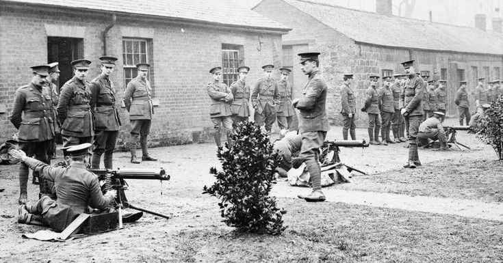 British Army Training in the United Kingdom during the First World War