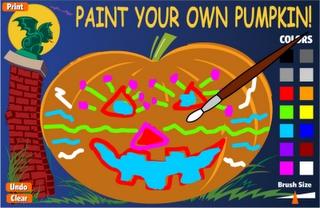 Actividades para Educación Infantil: Pintando calabazas