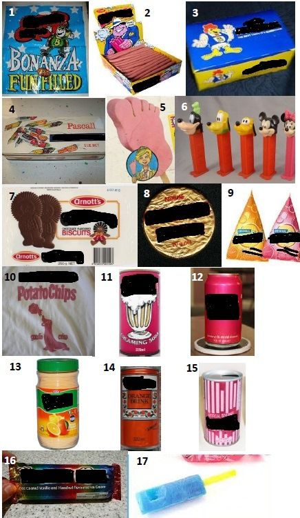 70s JUNK FOOD - Can you name these junk foods from the 70s?