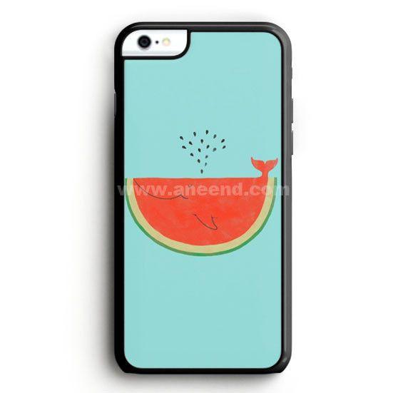 Watermelon Whale iPhone 6 Plus Case   Aneend.com