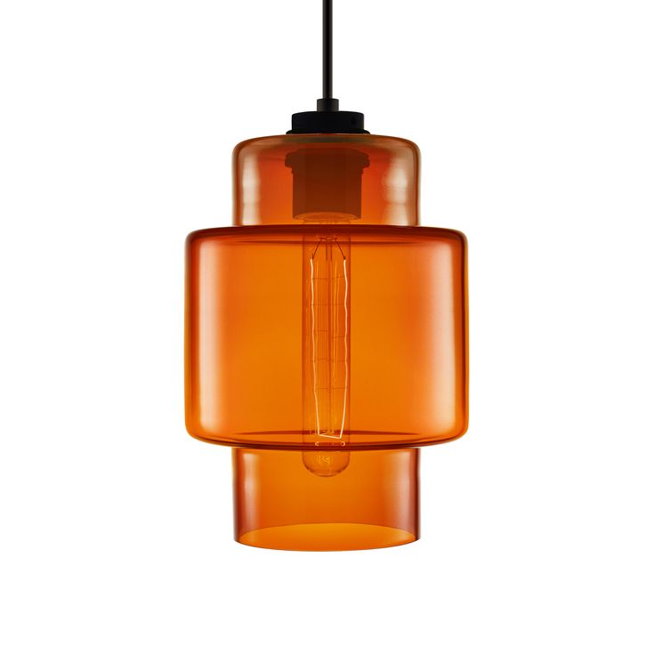 Niche modern crystalline series axia in clementine · pendant lampspendant