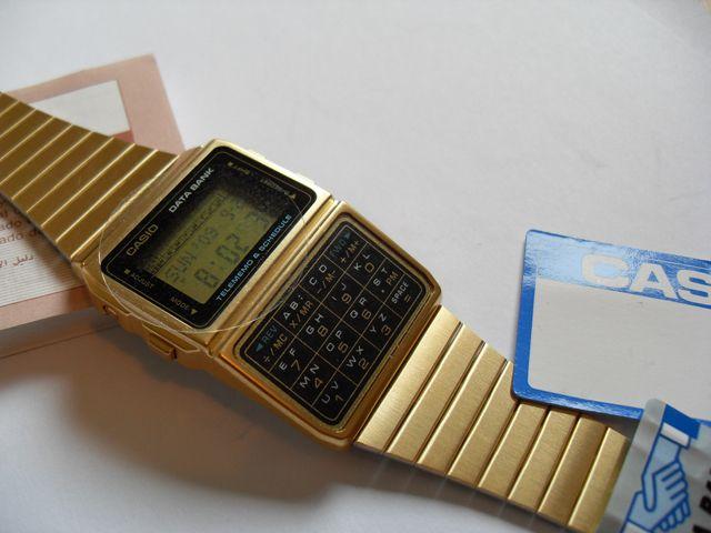 Gold Casio Databank