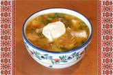 Sour Russian Schi Soup - One of my favourite Russian soups! Conveniently, it's still cold and semi-wintery outside - soup season marches on.