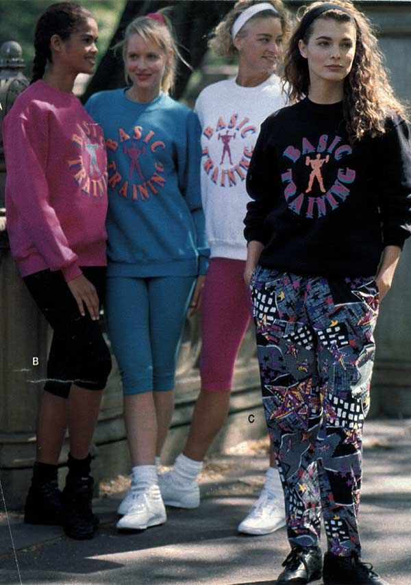 Teen Girls Fashion from a 1991 catalog #1990s #fashion #vintage