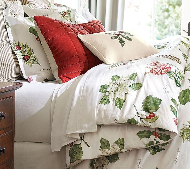 13 best images about christmas bedding on pinterest - Pottery barn holiday bedding ...