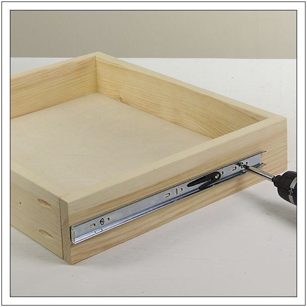 25 Best Ideas About Installing Drawer Slides On Pinterest Sliding Drawers Pull Out Drawers