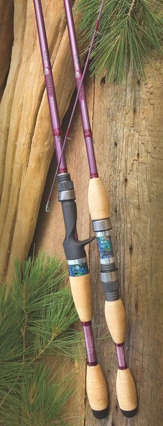 St. Croix Freshwater Avid Pearl Series Rods and Shimano Stella FE Reel
