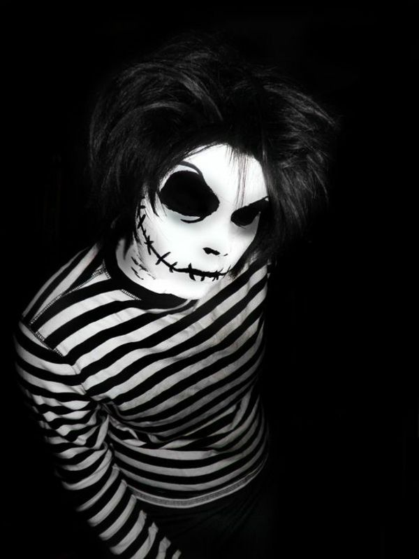 ber ideen zu mens halloween makeup auf pinterest halloween make up skelett make up. Black Bedroom Furniture Sets. Home Design Ideas