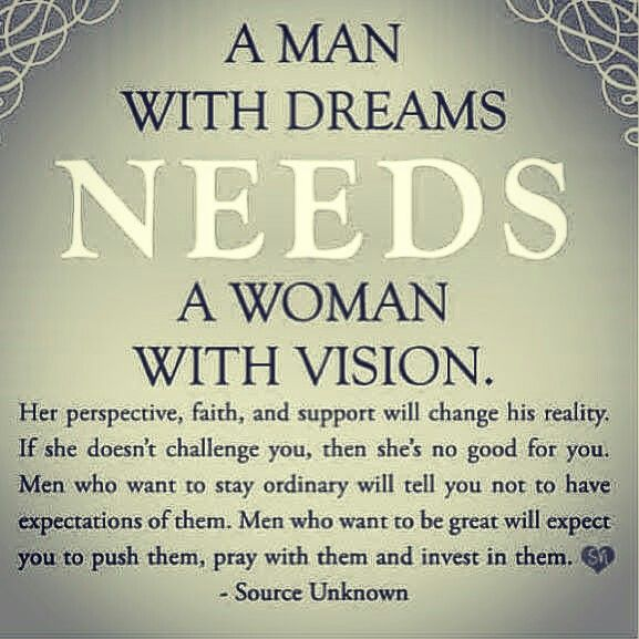 Im so in love with this!! Push, Pray and Invest in our men Ladies!!!