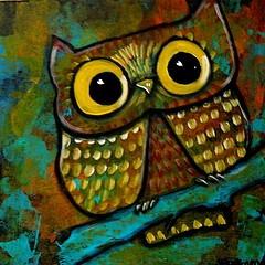 Suzan Buckner #owl