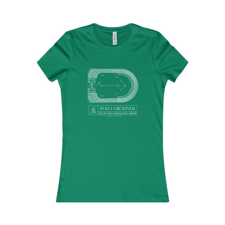 Polo Grounds Women's Favorite Short-Sleeve Tee