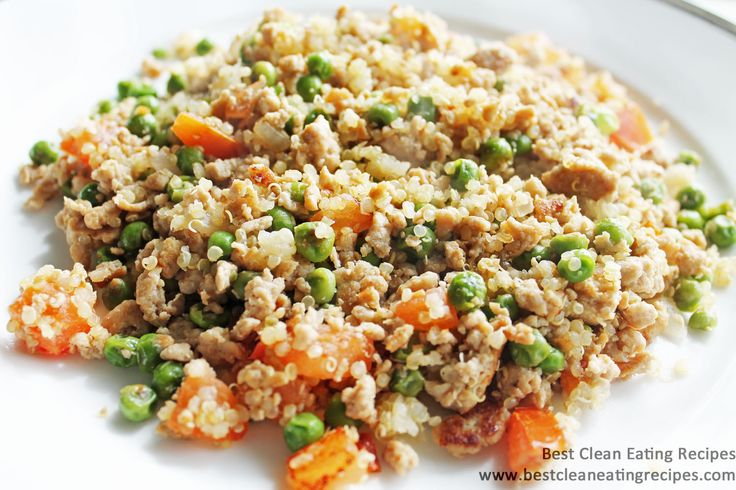 Clean Eating Recipe – Ground Turkey and Quinoa Stir Fry | Best Clean Eating Recipes | Clean Eating Diet Plan and Recipes #cleaneating #eatclean #healthyrecipe