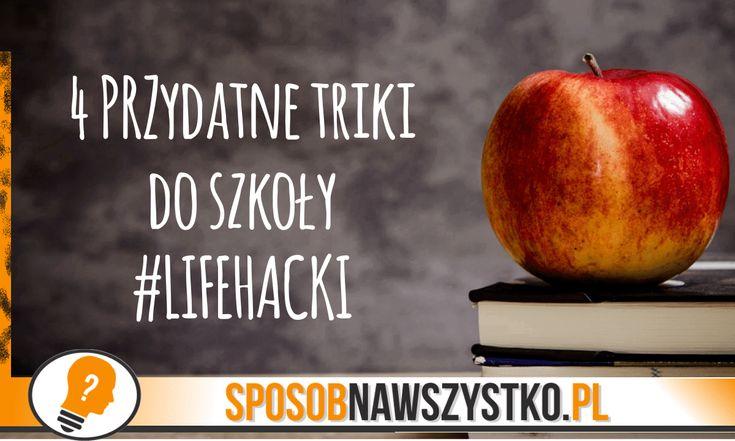 4 przydatne triki do szkoły - # #DIY #Filmy #Poradydomowe #Zróbtosam