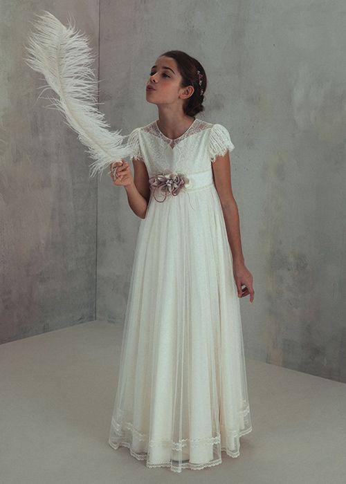 3b51d18a6 Vestidos de Comunión El Corte Inglés 2018 - Tendenzias.com | Tizzas ...
