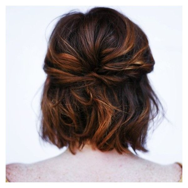"Morgan Ashley Salon on Instagram: ""A little short hair styling... ❤ liked on Polyvore featuring accessories, hair accessories and hair"