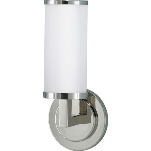 Feiss Industrial Revolution Polished Nickel One Light Wall Sconce