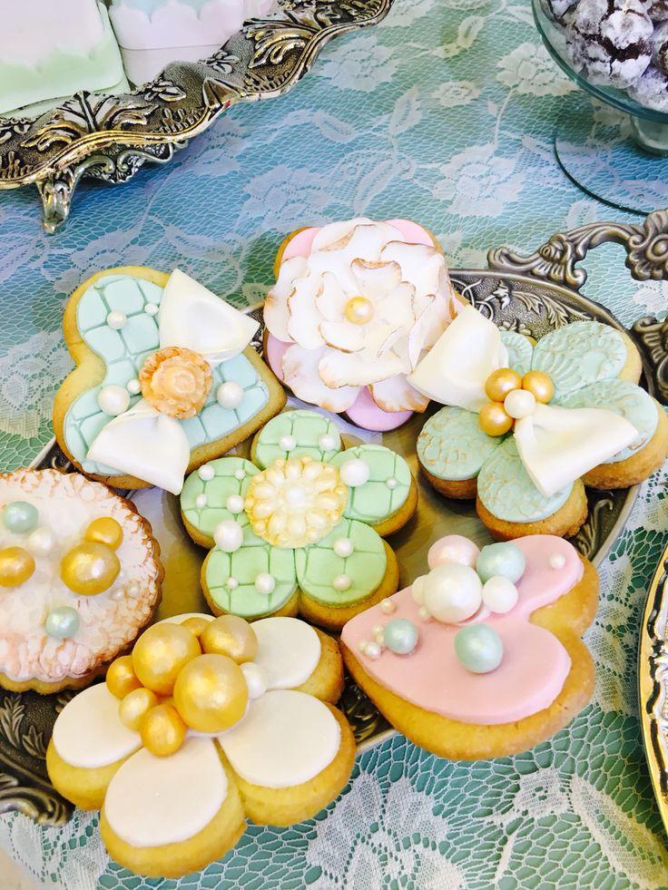 Pastel cookies