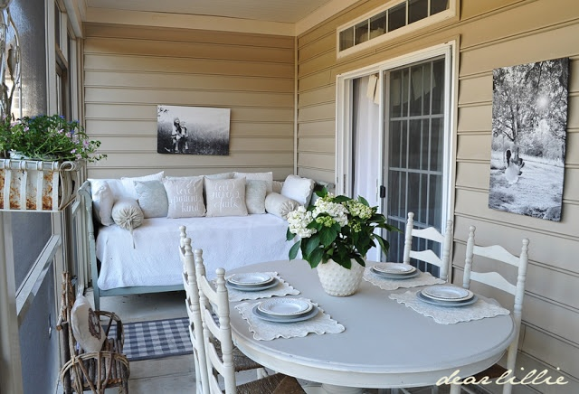 Dear Lillie: Back Porch and Moving