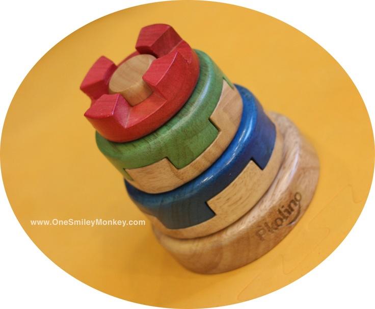 P'Kolino Wooden Puzzle Stacker!