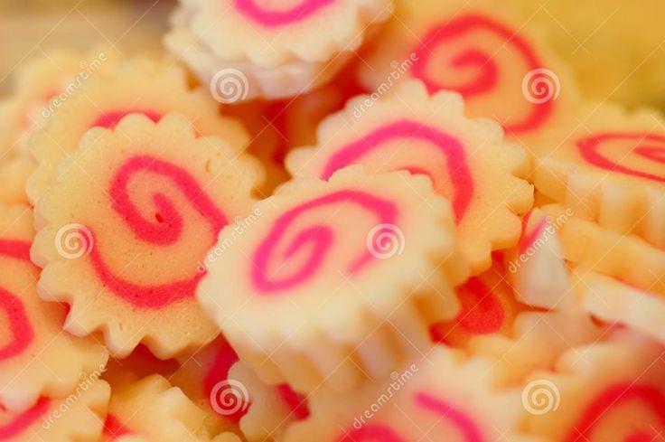 Fish Cake With Swirl Design