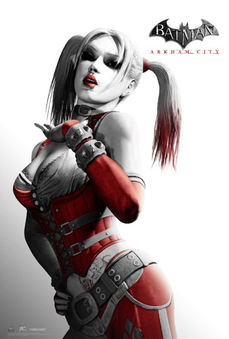 If I got a jester-girl sidekick THIS hot, I would become a clown-themed evil genius in seconds flat.