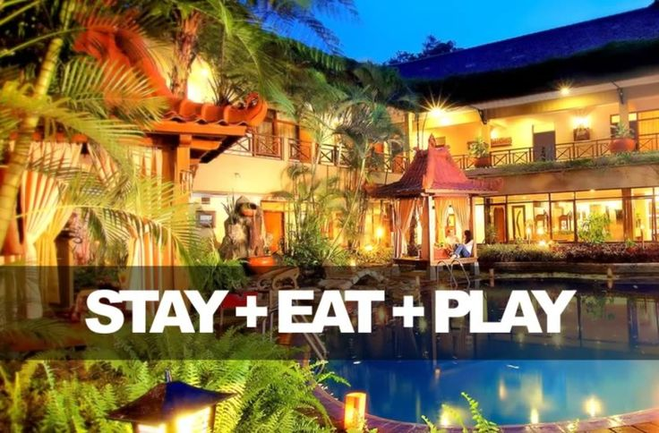 4 Days / 3 Nights - Stay, Eat, and Play